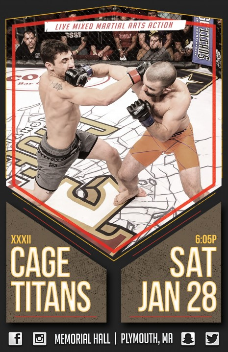 CAGE TITANS XXXIII Card – 1/28